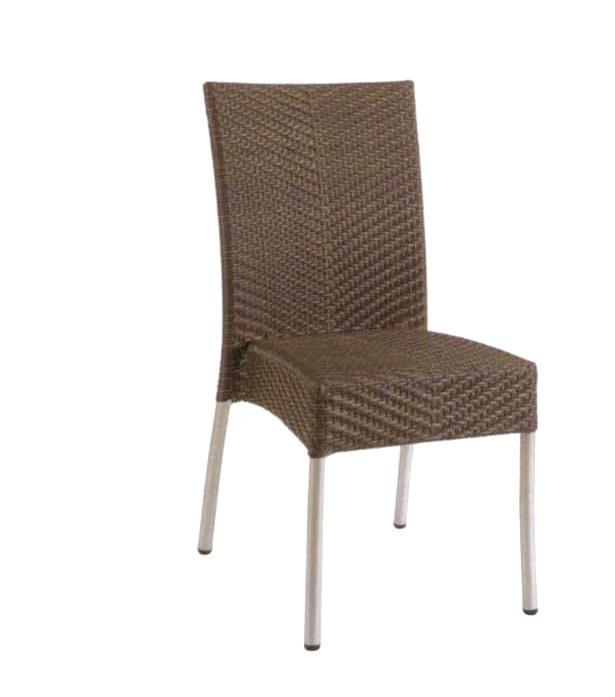 TW3025 aluminum rattan chair