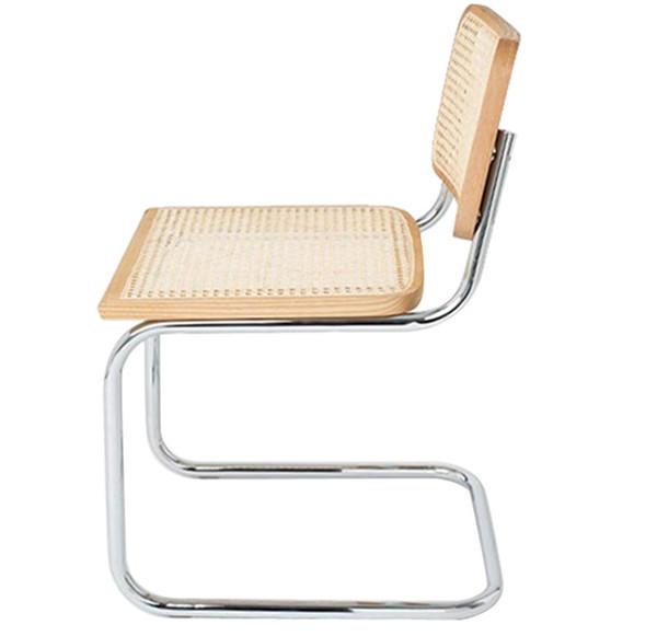 TW8761 metal Rattan chair natural dinning chair north European leisure style