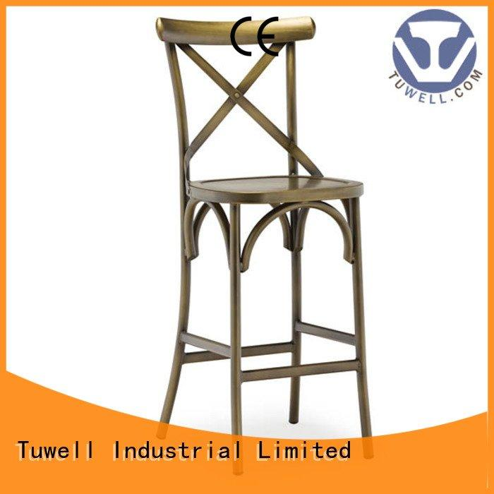 cross back chairs wholesale Self-Sabilizing Mounting aluminum Tuwell