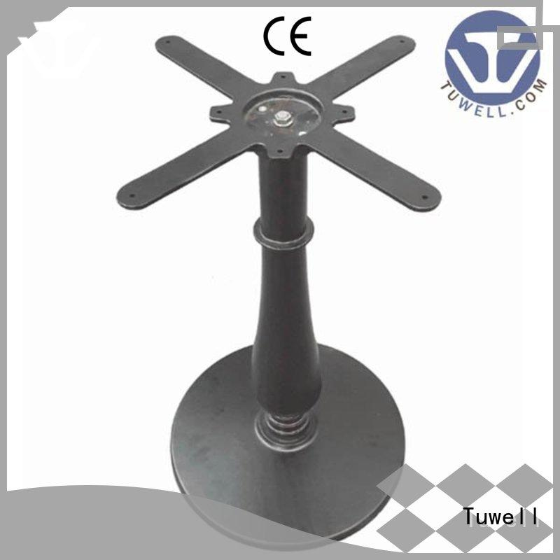 Tuwell Brand ODM cast iron dining table base iron supplier