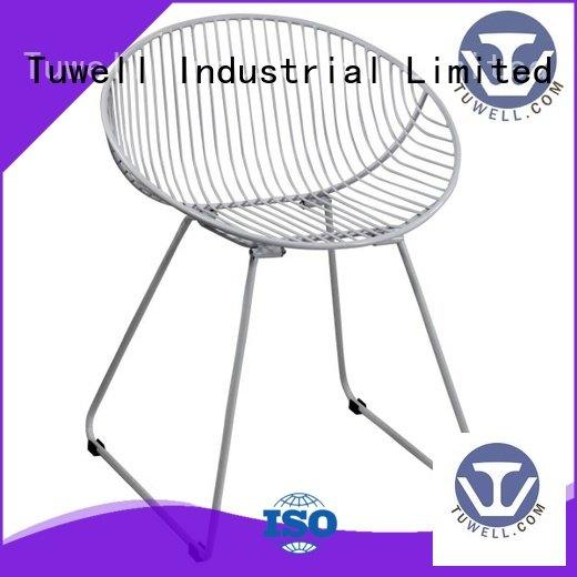 wire steel Tuwell wire chair
