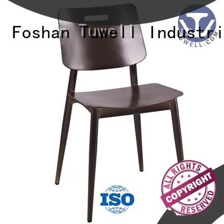 high quality outdoor aluminum bar chairs easy clean for bar Tuwell
