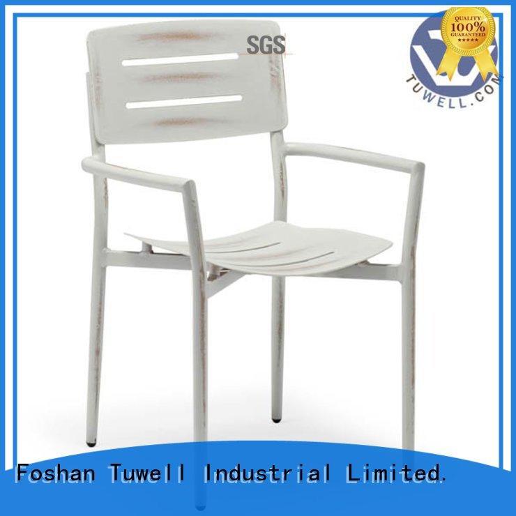 Tuwell Brand Outdoor chair custom aluminum bar stools