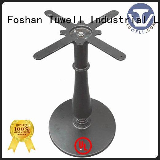 cast iron dining table base design stainless ODM Suitable