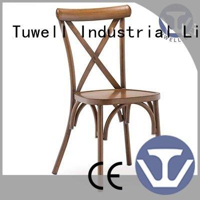 chair cross aluminum Tuwell cross back chairs