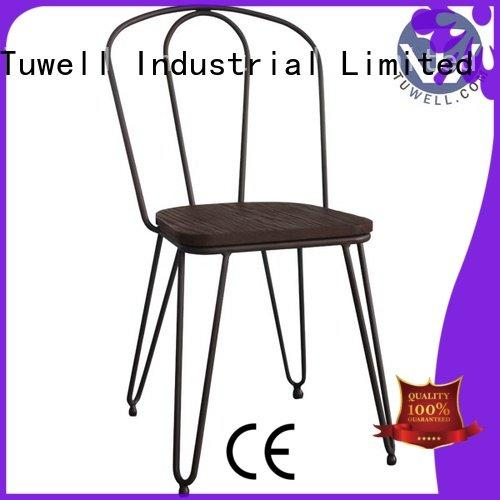 Hot steel folding chairs steel barstool simon Tuwell Brand