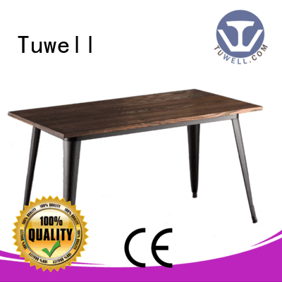 OEM bar height dining table design ODM stainless steel bar
