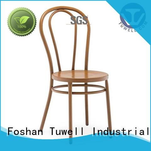 Tuwell personalized aluminum outdoor chairs high quality for bar