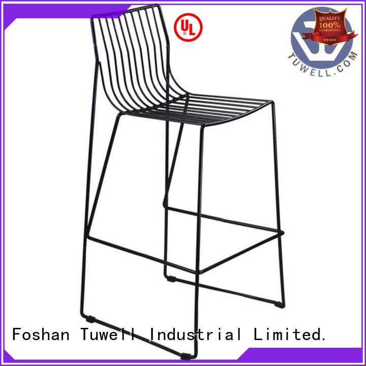 black wire chair steel bar lucy wire chair manufacture