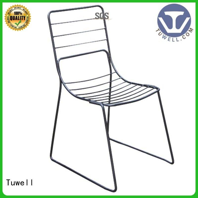 black wire chair metal wire chair Tuwell Brand