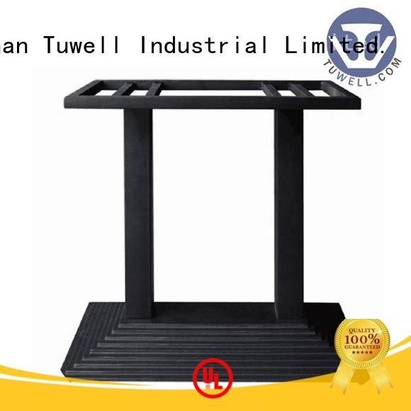 ODM iron stainless cast table base Tuwell