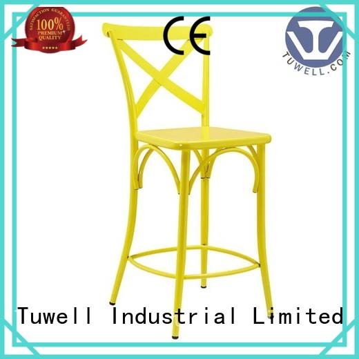 Tuwell Brand Self-Sabilizing ODM cross back chairs wholesale