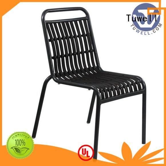 rattan chair for sale bar aluminum Tuwell Brand