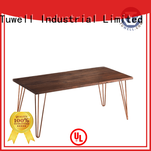 stainless steel bar design ODE Tuwell Brand bar height dining table