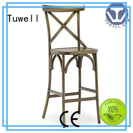high quality metal cross back chairs personalized for dining room Tuwell