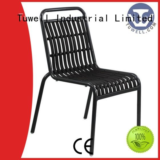 Tuwell durable Rattan chair design for dining room