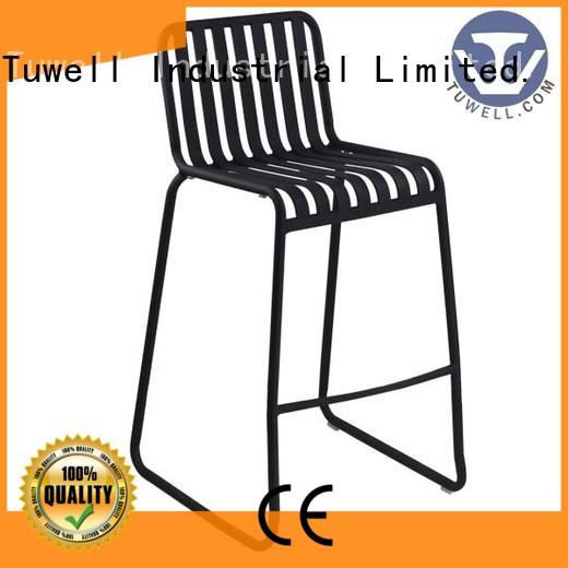 Tuwell personalized aluminum outdoor chairs manufacturer for living room