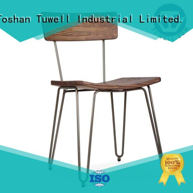 design Self-Sabilizing Bentwood chair factory chair steel Tuwell Brand