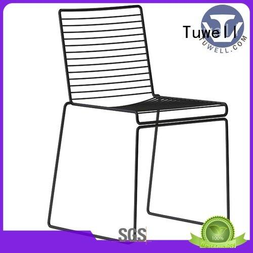lucy metal Tuwell wire chair