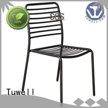 Tuwell durable metal wire chair supplier for restaurant