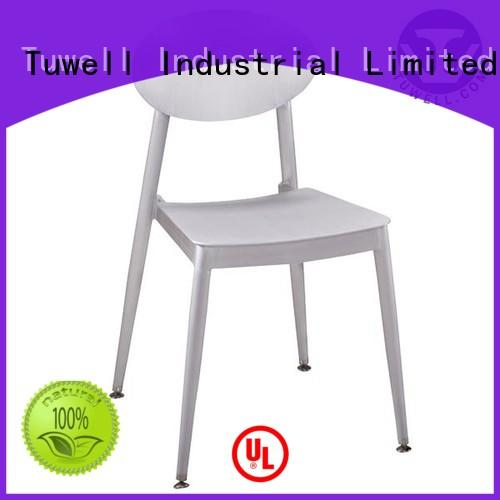 strong aluminum dining chairs easy clean for living room Tuwell