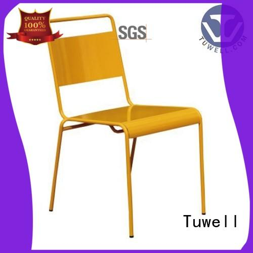 Tuwell durable steel chair design for club