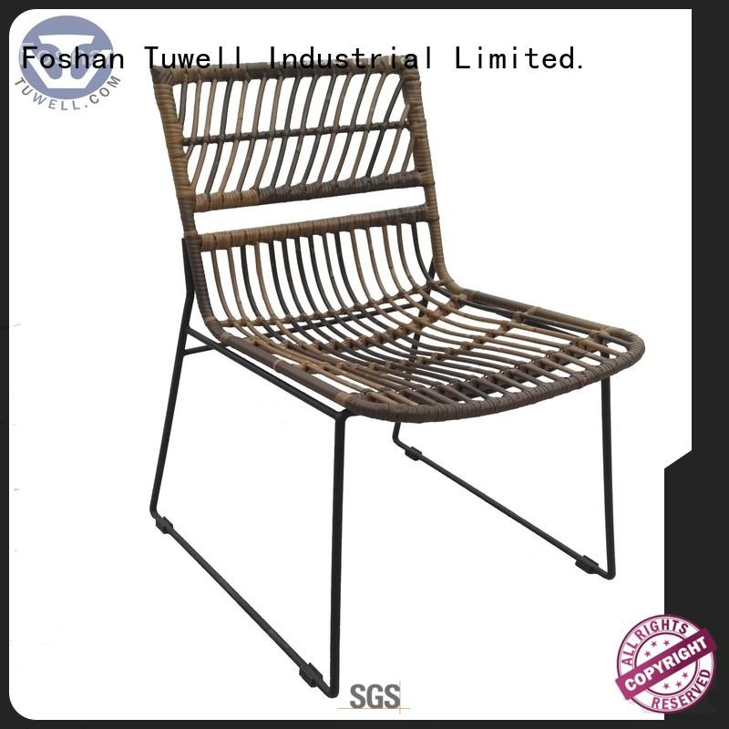 Rattan chair wholesale ODM ODE chair Warranty Tuwell
