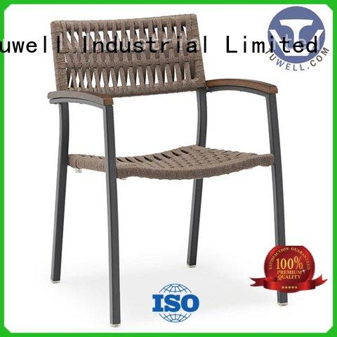 windsor chair aluminum Rope chair factory Tuwell