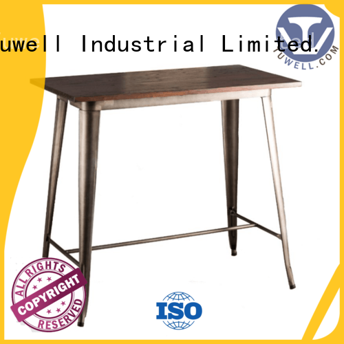 bar Mounting ODM Tuwell Brand bar height dining table supplier