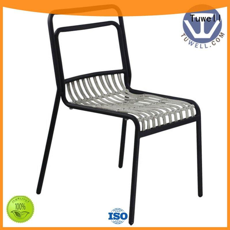 Custom Suitable Rattan chair Mounting black wire chair