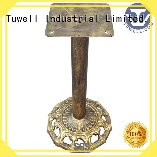 cast iron dining table base Suitable Mounting stainless Tuwell Brand cast table base