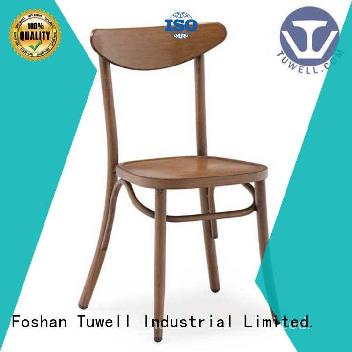 Tuwell high quality aluminum bar stools manufacturer for bar