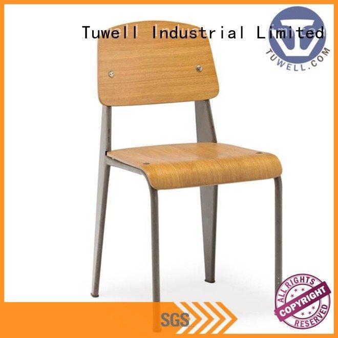 aluminum bar stools steel chair OEM Bentwood chair Tuwell