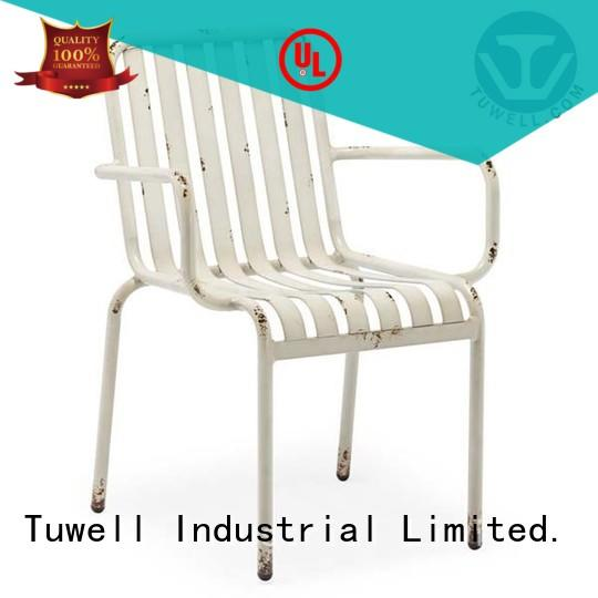 aluminum outdoor chairs durable for hotel Tuwell