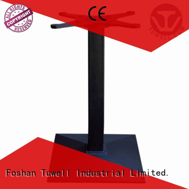 iron cast iron dining table base Suitable Tuwell company