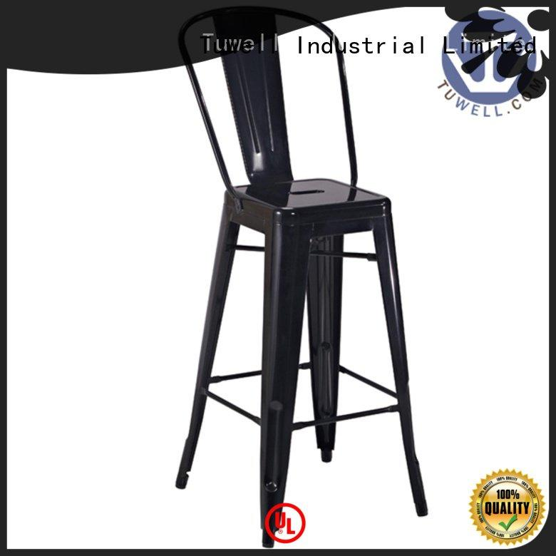 ODM ODE tolix steel Tuwell outdoor tolix chairs