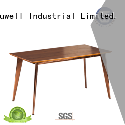Tuwell Brand design steel stainless steel bar table supplier