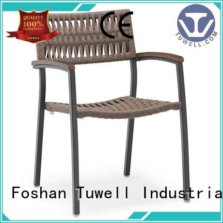 chair Suitable Outdoor Rope chair factory Tuwell