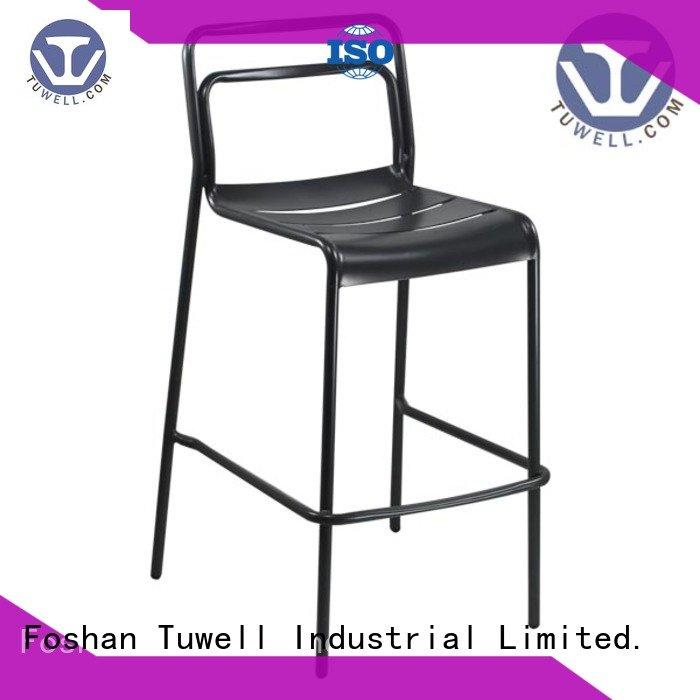 side Outdoor Tuwell aluminum chairs