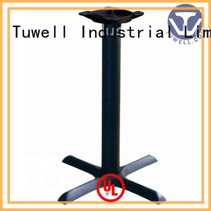 ODE steel ODM iron Tuwell Brand cast table base supplier