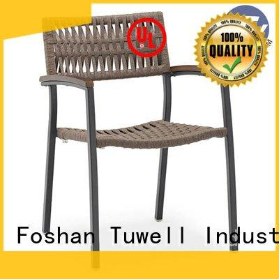 Tuwell Rope chair factory design ODE aluminum Self-Sabilizing