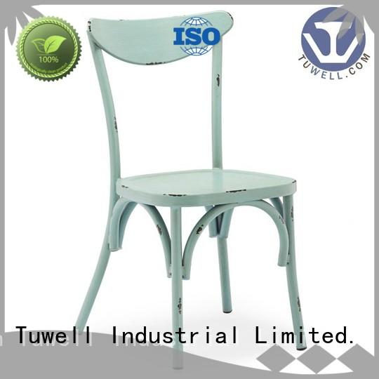 personalized aluminum dining chairs durable for bar Tuwell
