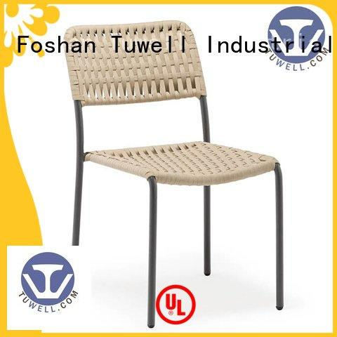 Rope chair factory Outdoor ODM windsor design Tuwell