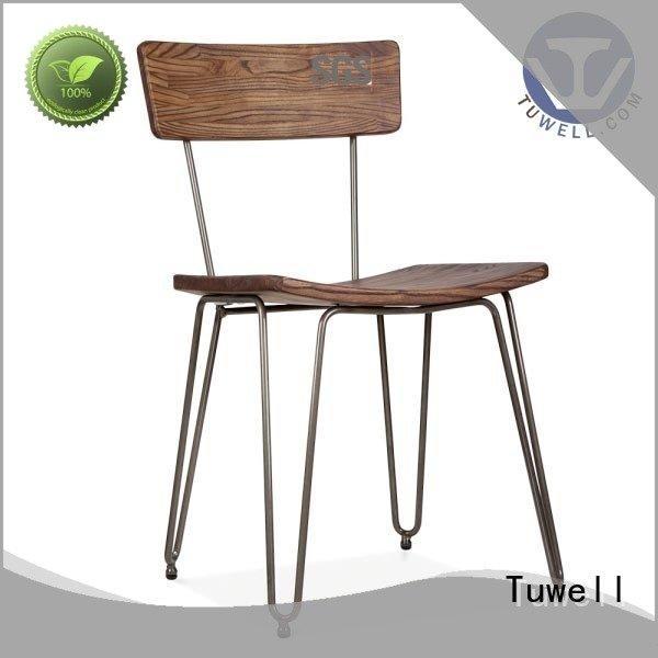 Hot aluminum bar stools steel Suitable design Tuwell Brand