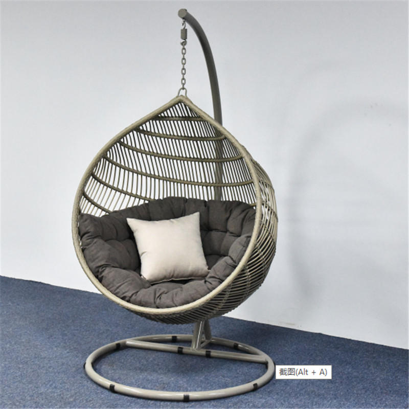 TW8771  Morden and Fashion rattan egg swing chair hanging chair indoor and Outdoor