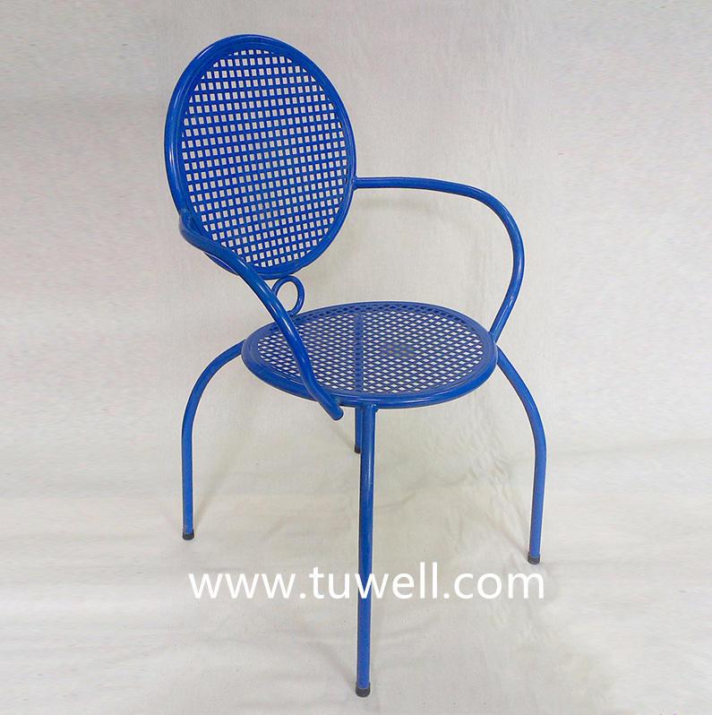 TW8621-B Steel Mesh Dining Chair