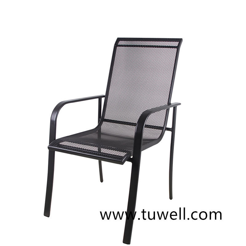 TW8624 Steel Mesh Garden Chair