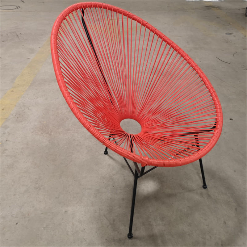 TW8790 Metal PE Rattan chair indoor and outdoor for garden and patio