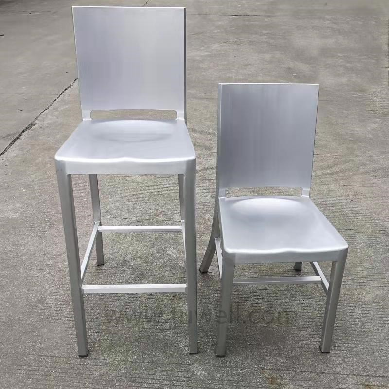 Tuwell-Oem Navy Dining Chairs Manufacturer | Navy Chairs-7